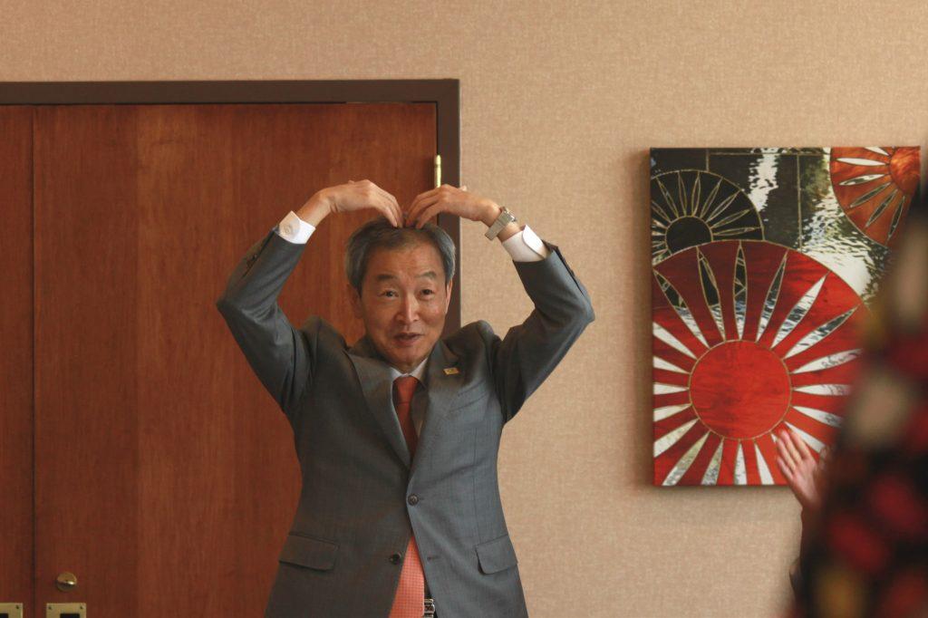 Ambassador Ahn Ho-young